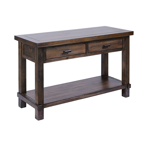 Higgins Farmhouse Stain Console Table