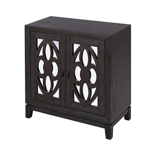 Stein World Boswell Dark Oak Veneer Cabinet