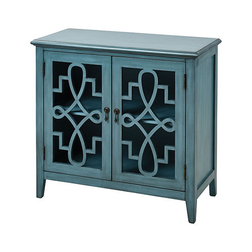 Stein World St. Raphael Blue Cabinet