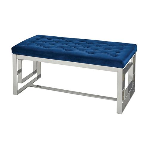 Adelphi Chrome Bench