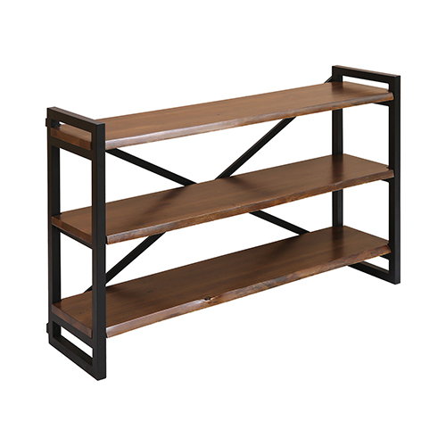 Stein World South Loop Acacia Wood 48-Inch Bookshelf
