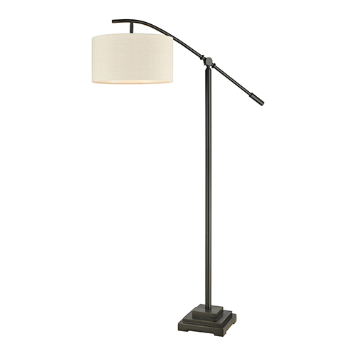 Fann Oil Rubbed Bronze One-Light Floor Lamp