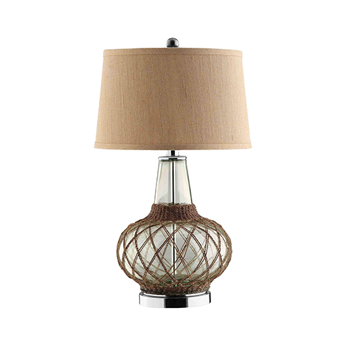 Genie Natural Twine One-Light Table Lamp