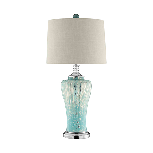 Shae Blue One-Light Table Lamp