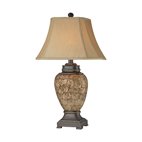 Stein World Cape Horn Multi-Color One-Light Table Lamp