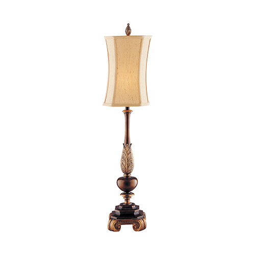 Sweet Ginger Antique Gold and Copper Bronze One-Light Table Lamp