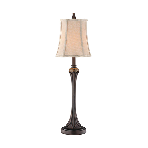 Tuscan Bronze and Gold One-Light Table Lamp