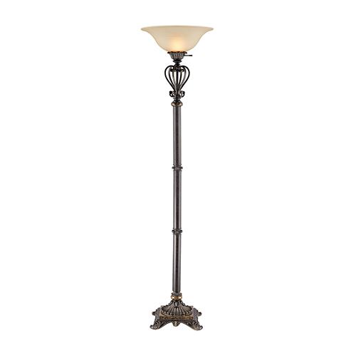Lyon Bronze One-Light Floor Lamp
