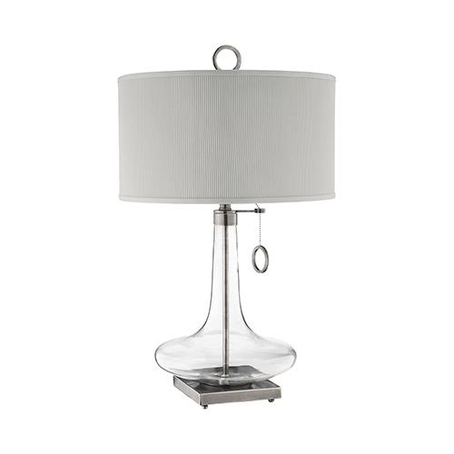 Eden Antique Brass One-Light Table Lamp