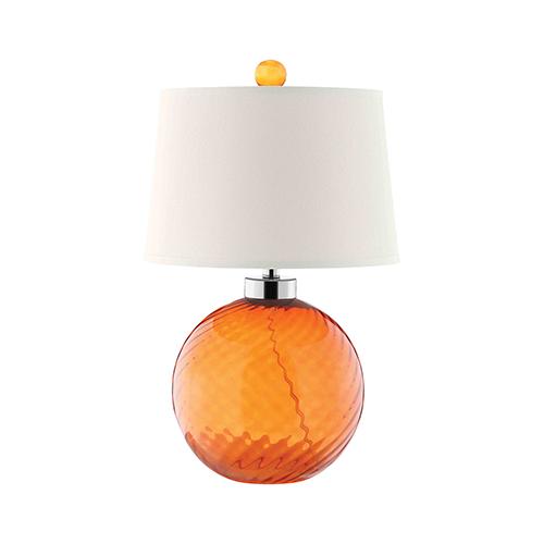Sarano Tangerine One-Light Table Lamp