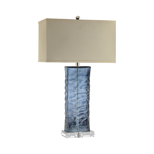 Arendell Blue One-Light Table Lamp