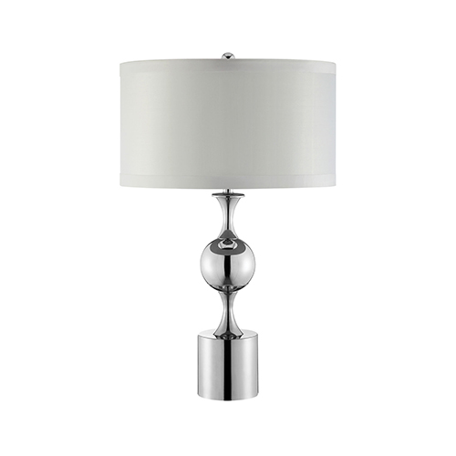 Winslow Silver One-Light Table Lamp