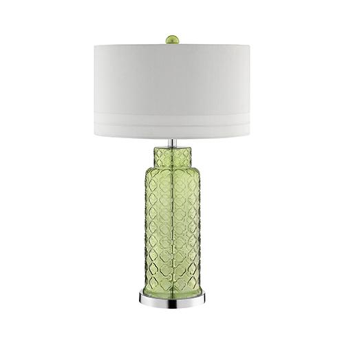 Romeo Green One-Light Table Lamp