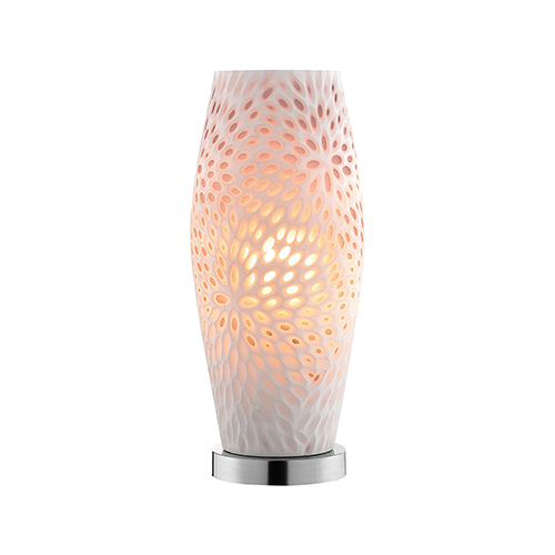 Shelly Pewter One-Light Table Lamp