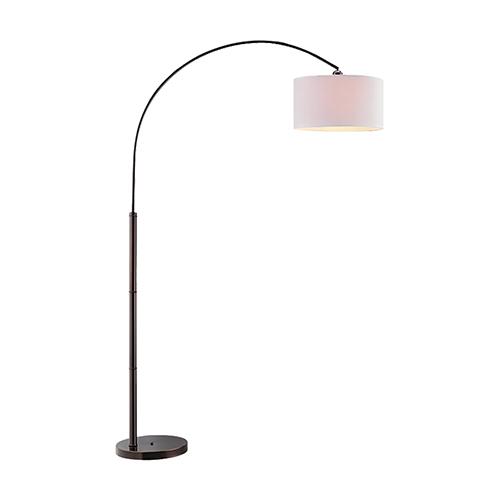 Stein World Archia Dark Brown One-Light Floor Lamp