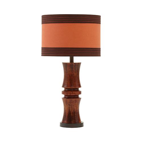 Viorst Dark Brown One-Light Table Lamp