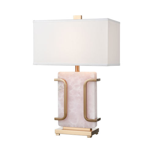 Archean Pink with Cafe Bronze One-Light Table Lamp