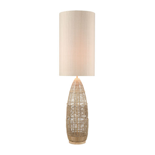 Husk Natural One-Light Floor Lamp
