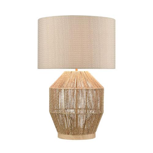 Corsair Natural One-Light Table Lamp