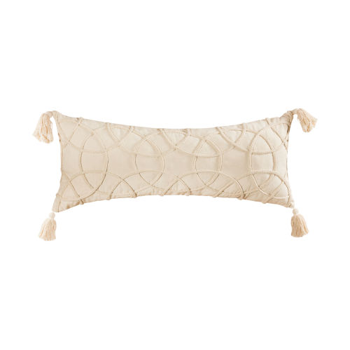 Centre White 14-Inch 14 x 32 In. Pillow Cover