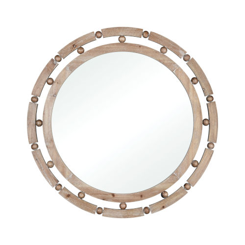 Berring Smoked Fir 34-Inch Wall Mirror