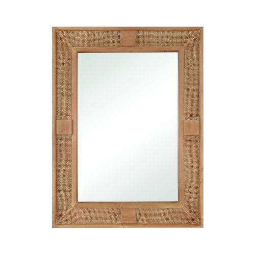 Cabana Natural 30-Inch Wall Mirror
