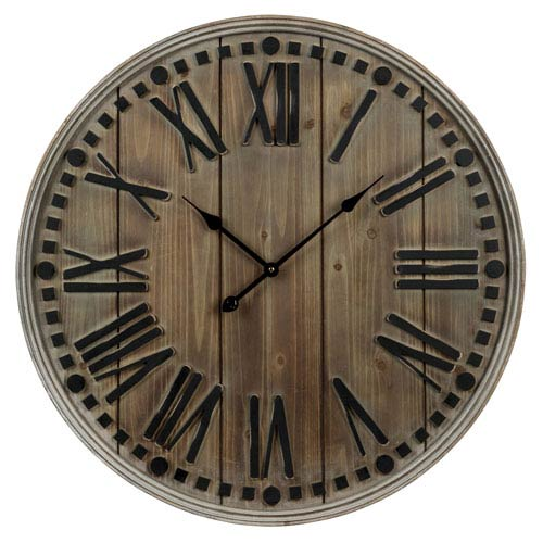 Linden Brown  Clock