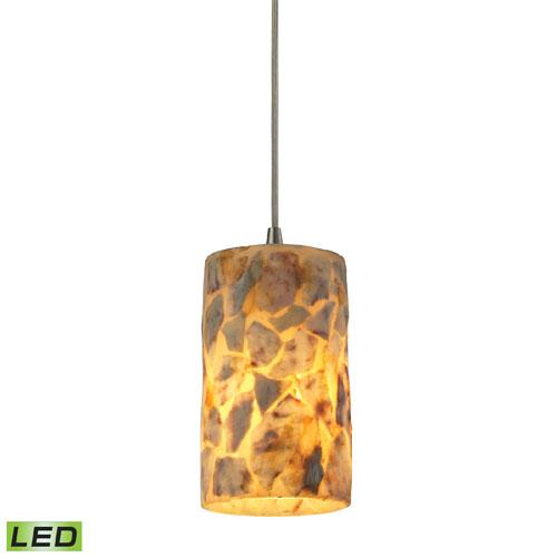 Elk Lighting Rocklidge Satin Nickel LED One Light Mini Pendant