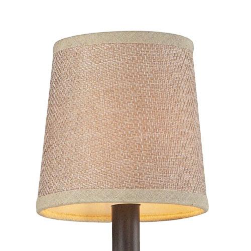Elk Lighting Veronica Tan Textured Linen Shade
