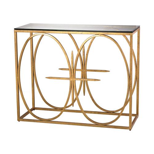 Gold Antique Console Table Bellacor