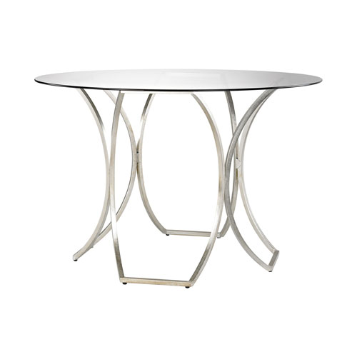 Clooney Champagne Gold Entry Table