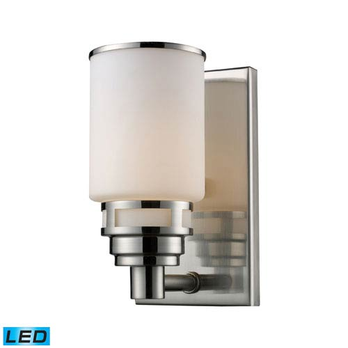 Elk Lighting Bryant One Light LED Bath Fixture In Satin Nickel