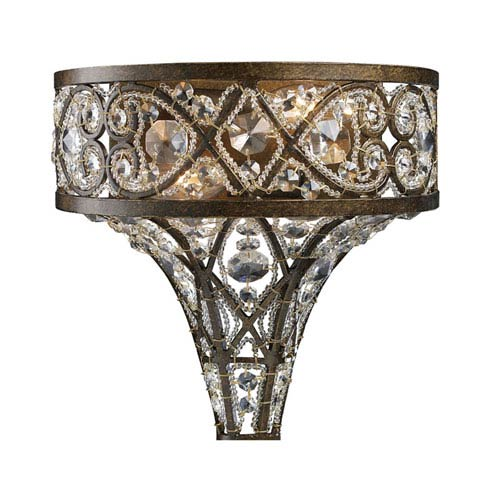 Amherst Antique Bronze Two-Light Sconce