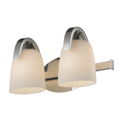 Elk Lighting Somerset Two Light Bath Fixture In Polished Chrome