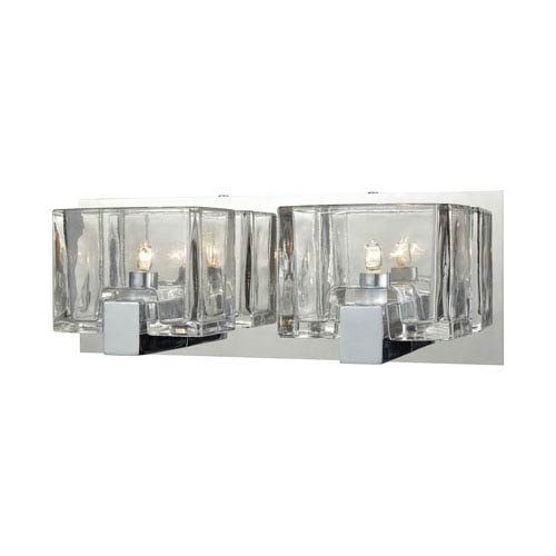 Elk Lighting Ridgecrest Polished Chrome Two-Light Vanity