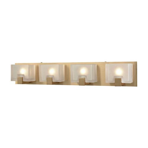 Elk Lighting Ridgecrest Satin Brass Four-Light Vanity