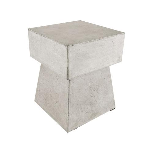 Mushroom Wax Concrete Stool