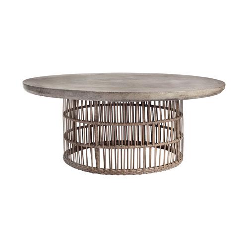 Refuge Dark Grey Wax Coffee Table