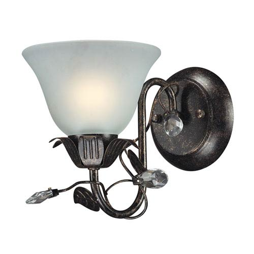 Elk Lighting Maribella One Light Bath Fixture In Deep Rust