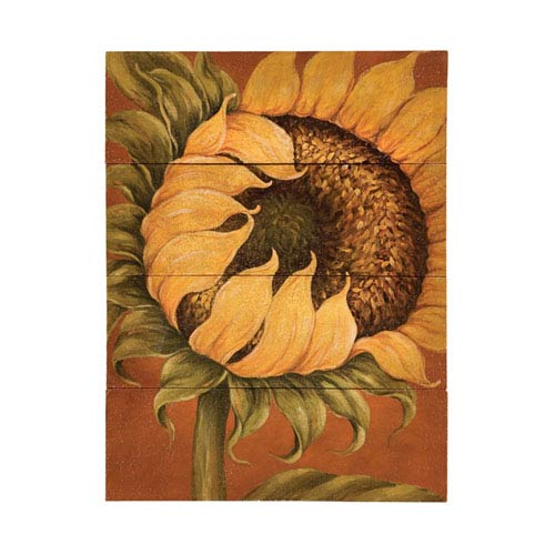 Handpainted Tuscan Sunflower Canvas Wall Art