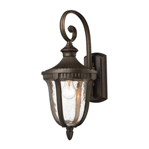 Elk Lighting Worthington One-Light Outdoor Sconce In Hazelnut Bronze