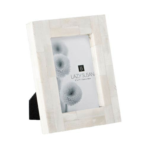 Bone Block Cream 5 x 7-Inch Frame