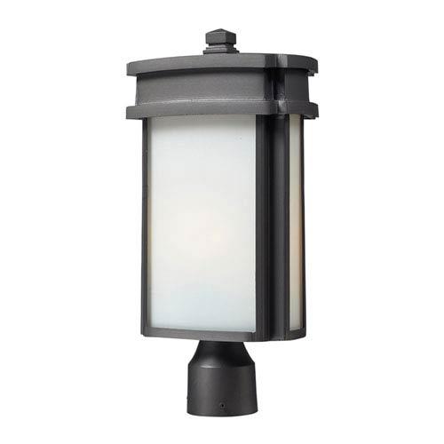 Sedona One-Light Outdoor Post Light In Graphite
