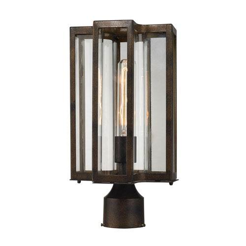 Bianca Hazelnut Bronze One-Light Outdoor Post Lantern