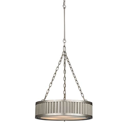 Elk Lighting Linden Brushed Nickel 26-Inch Three Light Pendant