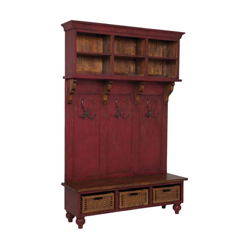 Legacy Red Stain Cabinet
