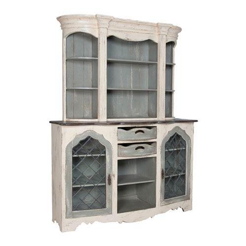 Handpainted Vaucelles Cream Cabinet