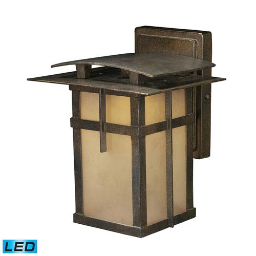 Elk Lighting San Fernando Hazelnut Bronze LED One-Light Outdoor Wall Light