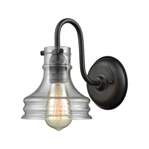 Binghamton Oil Rubbed Bronze One-Light Wall Sconce