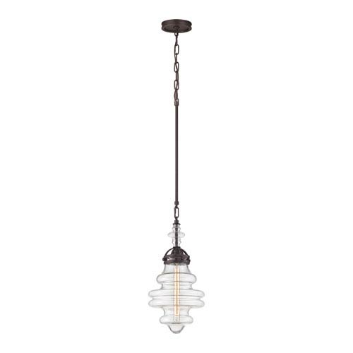 Gramercy Oil Rubbed Bronze 10-Inch One-Light Mini Pendant